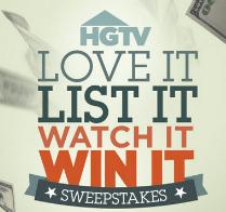 HGTV-Sweepstakes