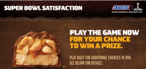 Snickers-Sweepstakes