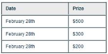 Check-into-Cash-prizes