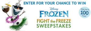 Frozen-Sweepstakes