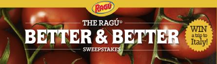 Ragu-Sweepstakes