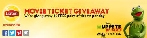 Lipton-Sweepstakes