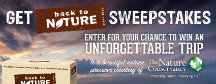 Back-to-Nature-Sweepstakes