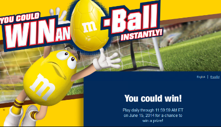 M&M-Sweepstakes