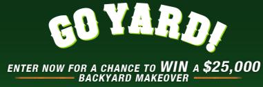 The Scotts® Go Yard Sweepstakes - Win a $25,000 Backyard ...