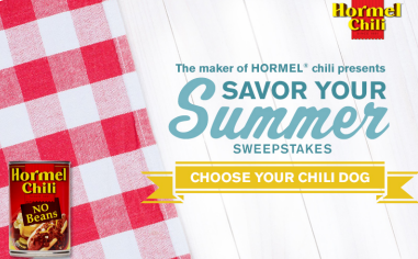 Hormel-Chili-Sweepstakes