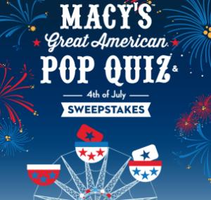 Macys-Sweepstakes