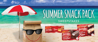 Sara-Lee-Snacks-Sweepstakes