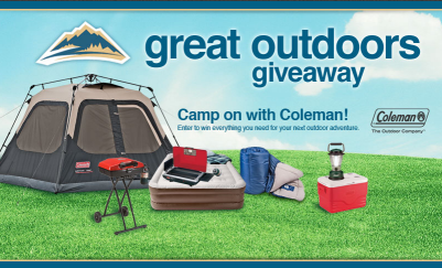 Shopko Great Outdoors Giveaway Sweepstakes Win Coleman Camping Gear Sweepstakes In Seattle