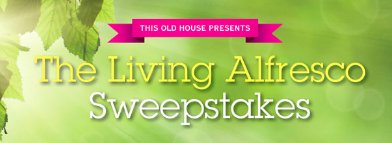 Living alfresco sweepstakes