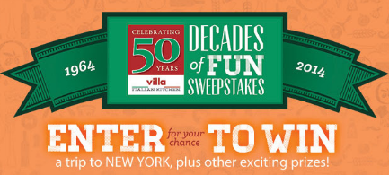 Villa-Fresh-Italian-Kitchen-Sweepstakes