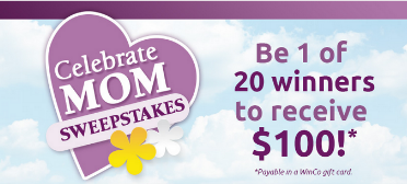 Winco-Mom-Sweepstakes