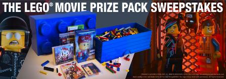 Lego-Sweepstakes