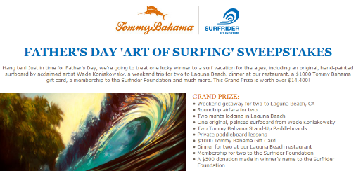 Tommy-Bahama-Sweepstakes