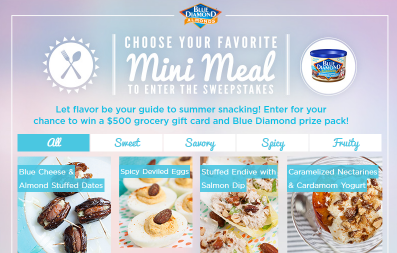 Blue-Diamond-Almonds-Sweepstakes