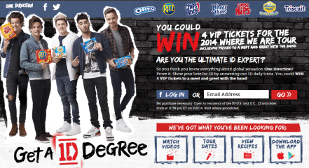 Nabisco-Sweepstakes