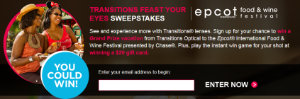 Transitions-Sweepstakes