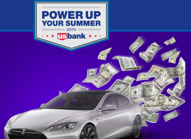 Us bank power up summer sweepstakes 2018
