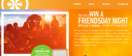 Izze-Sweepstakes