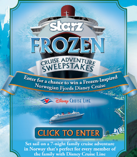 Starz-Frozen-Sweepstakes