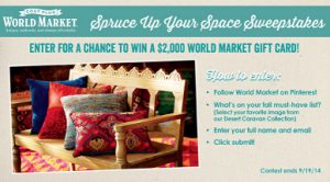 World-Market-Sweepstakes