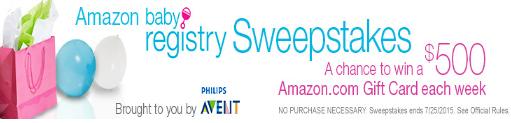 Amazon-Sweepstakes