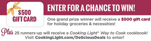 Cooking-Light-Sweepstakes