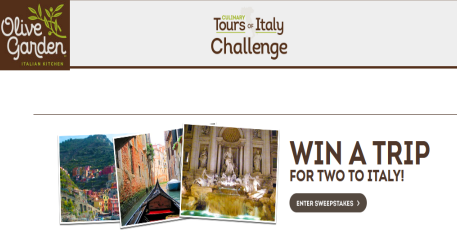 Olive Garden Culinary Tours Of Italy Sweepstakes Win A Trip To Italy Sweepstakes In Seattle