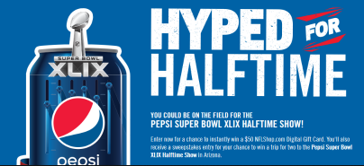 Pepsi-Sweepstakes