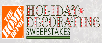 Delilah\'s The Home Depot Holiday Decorating Sweepstakes – Win a ...