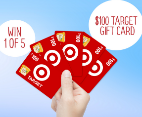 Earth Balance Target Gift Card Sweepstakes Win A 100 Target