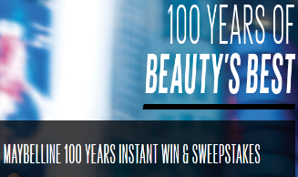 Maybelline-Sweepstakes