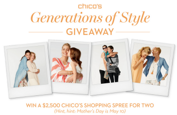 Chicos-Sweepstakes