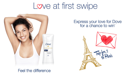 Dove-Sweepstakes