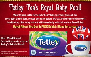 Royal baby name sweepstakes