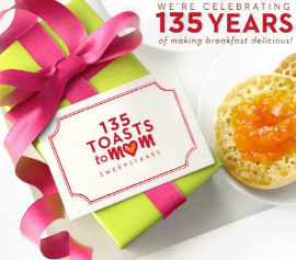 Thomas-English-Muffins-Sweepstakes
