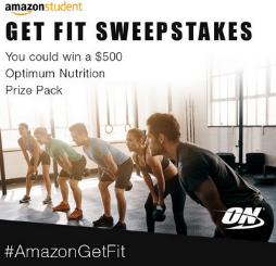 Amazon-Student-Sweepstakes