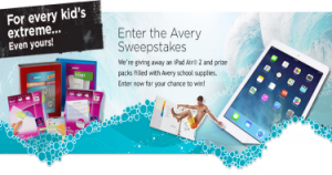 Avery-Sweepstakes