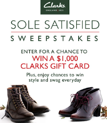 Clarks-Sweepstakes