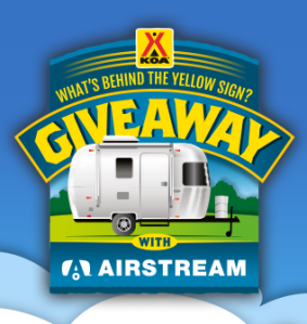 koa behind the sign giveaway koa what s behind the yellow sign airstream giveaway 4152