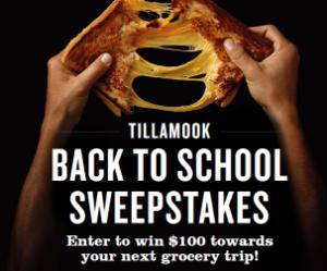 Tillamook-Sweepstakes