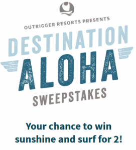 Outrigger-Sweepstakes