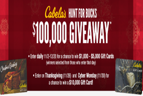 Cabelas-Sweepstakes