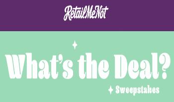 RetailMeNot-Sweepstakes