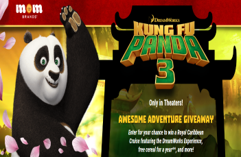 MOM Brands Kung Fu Panda Awesome Adventure Giveaway & IWG