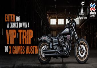 Harley-Davidson-Sweepstakes