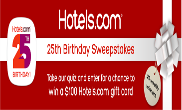 Hotels-Sweepstakes