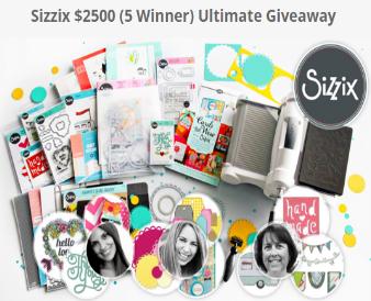 Sizzix-Sweepstakes