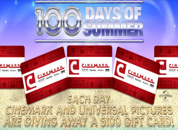 Cinemark-Sweepstakes
