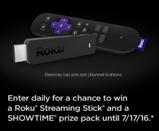 Roku-Sweepstakes